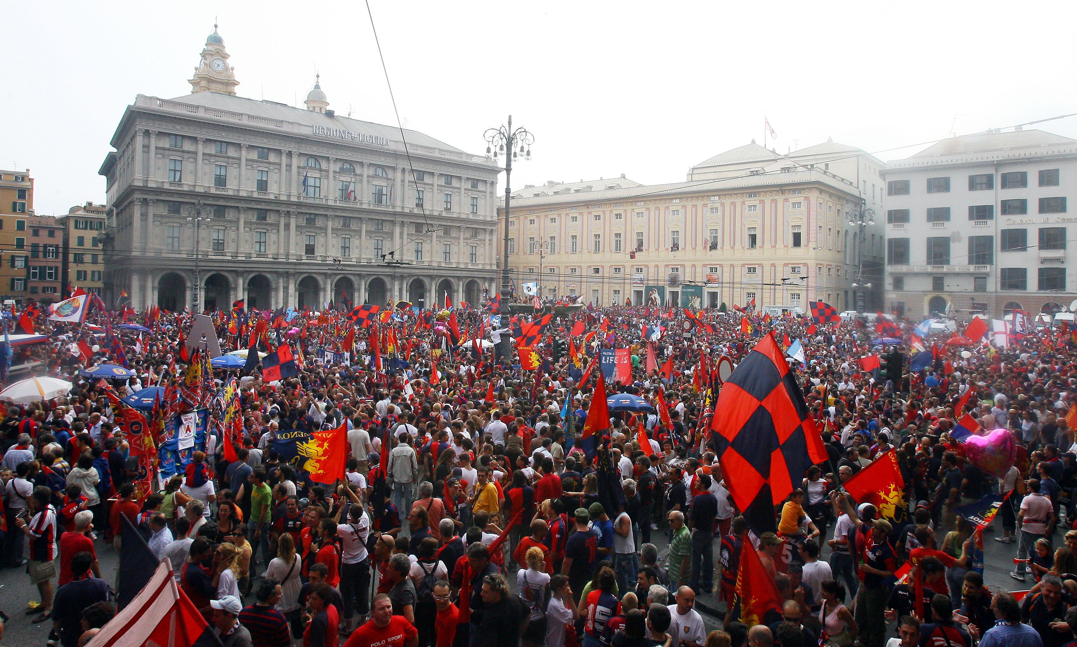 Genoa De Ferrari Genova promozione