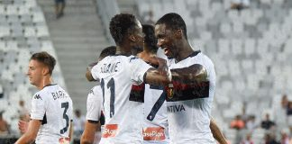 Zapata Kouamé Bordeaux-Genoa
