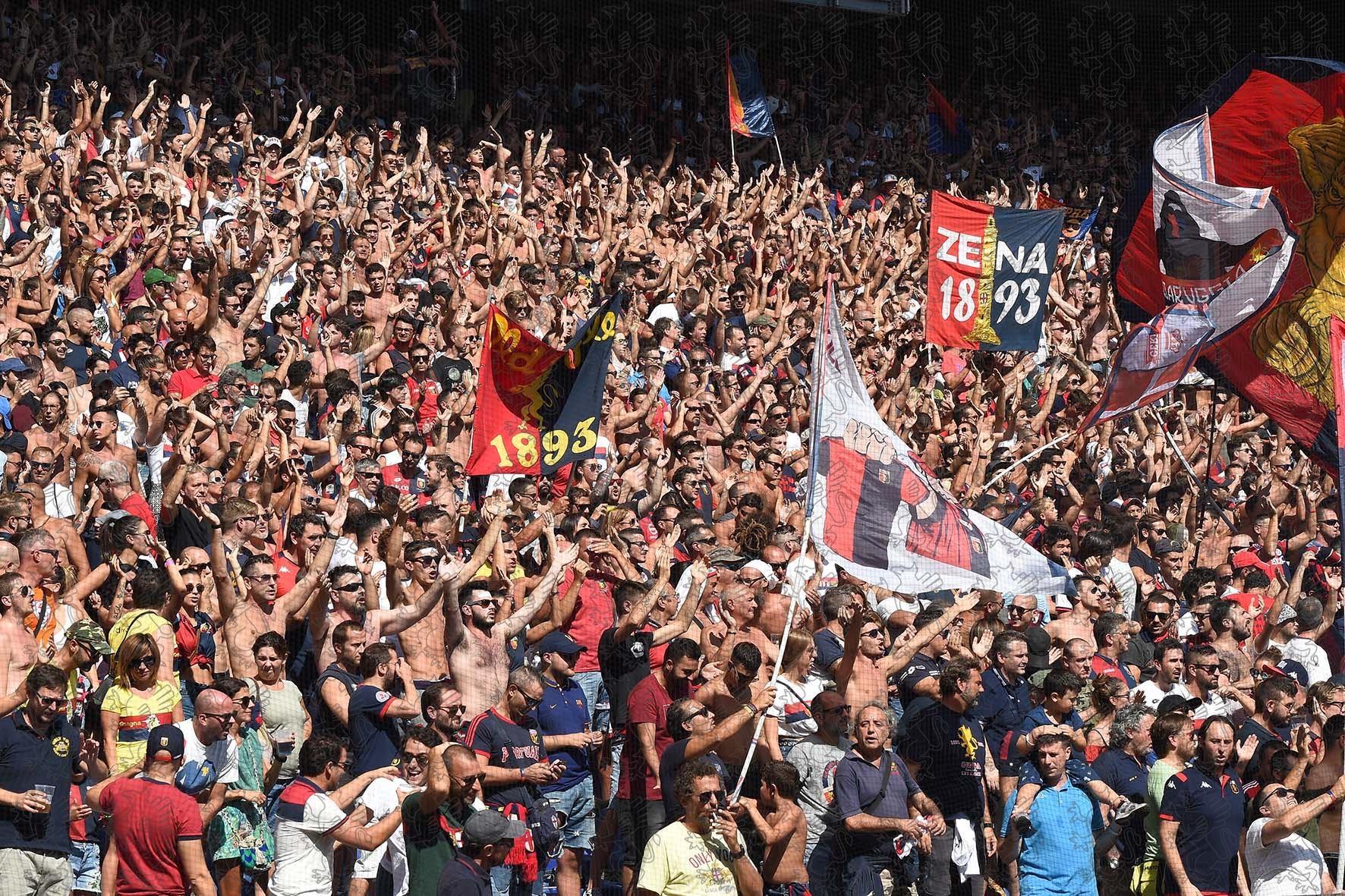 Gradinata Nord Genoa Genoa-Milan