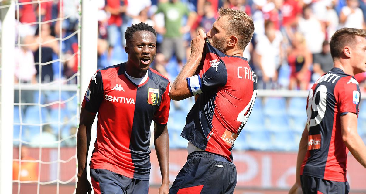 Il Cagliari centra il secondo successo di fila, ko il Genoa