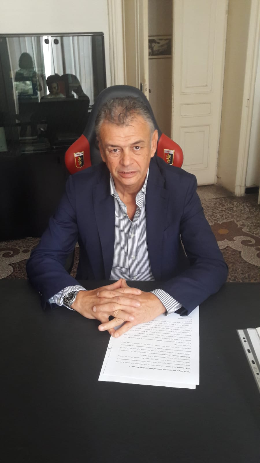 Genoa Strinati Thiago Motta