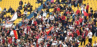 Genoa Genoani tifosi Tardini Parma