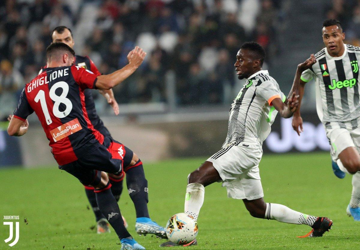 Ghiglione Matuidi Genoa Juventus