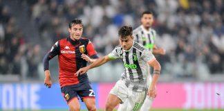 Cassata Dybala Genoa Juventus