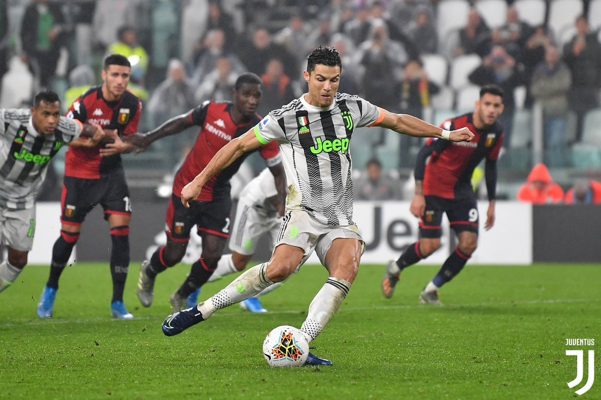 Ronaldo Juventus-Genoa