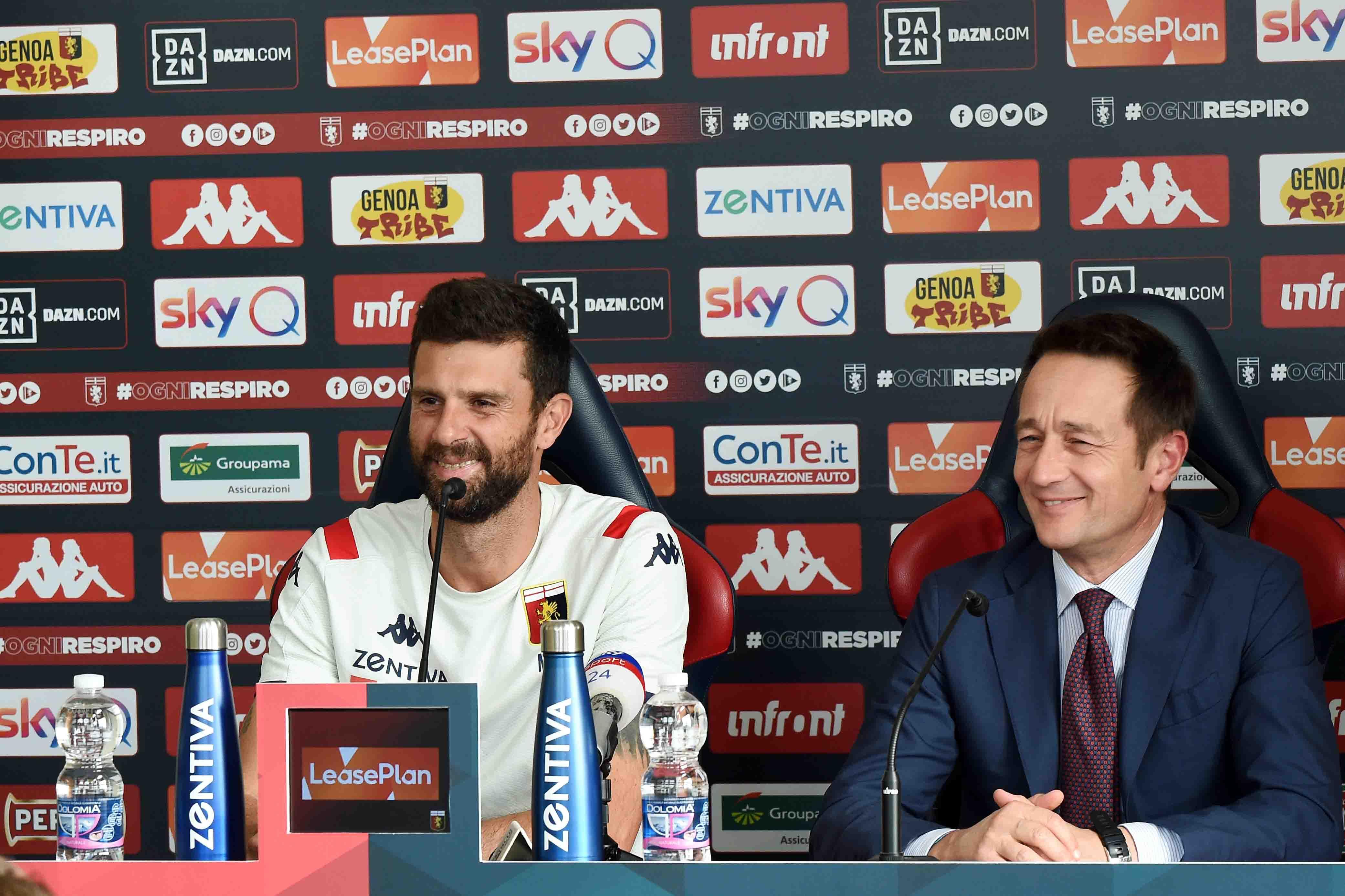 Zarbano Thiago Motta Genoa