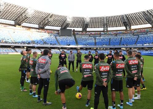 Report dall'allenamento del Napoli al San Paolo: Manolas assente per febbre