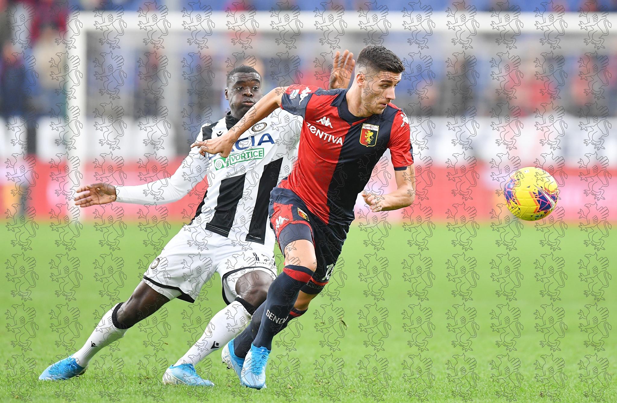 Ghiglione Genoa Udinese