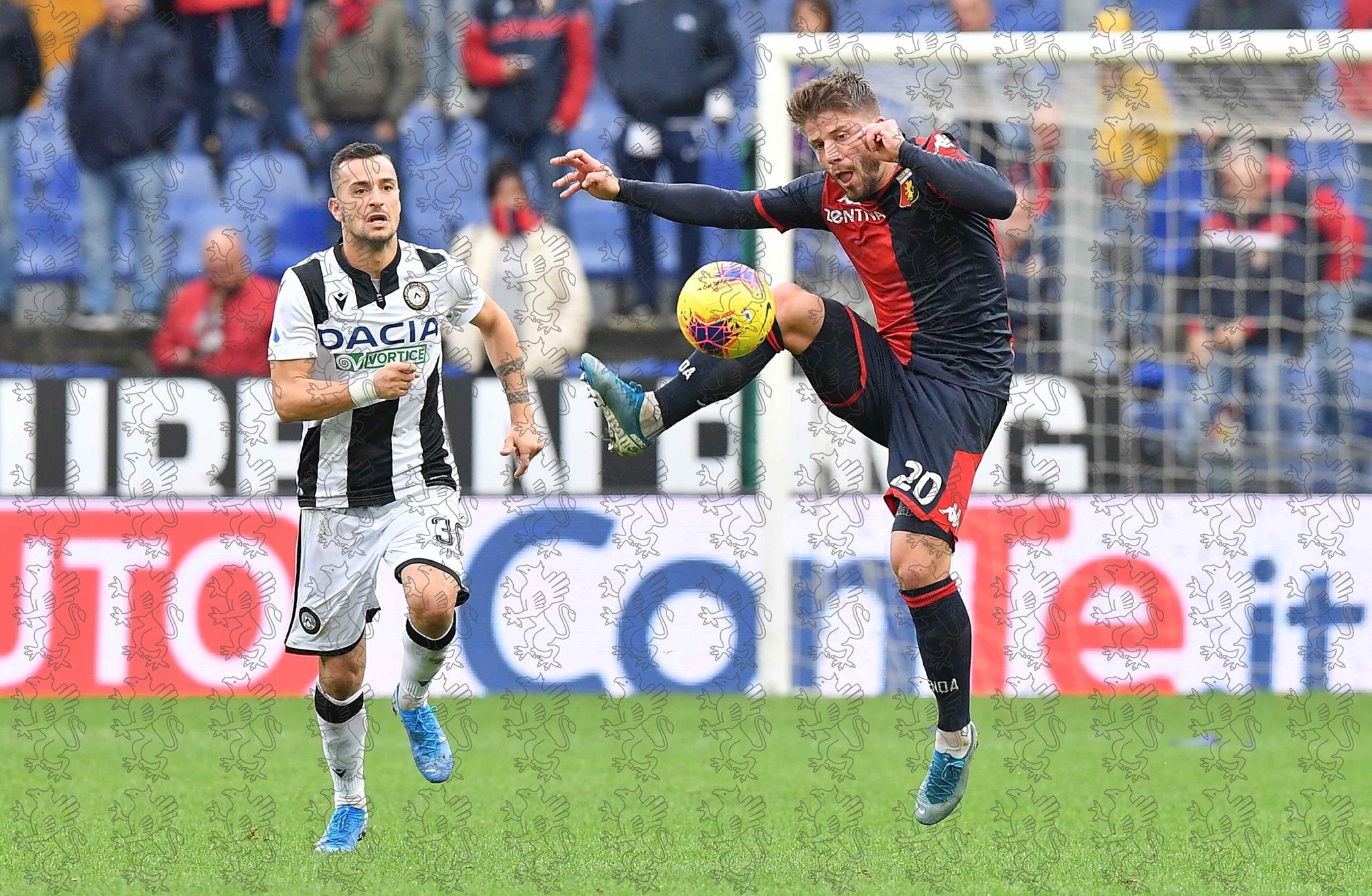 Schone Genoa-Udinese Schöne
