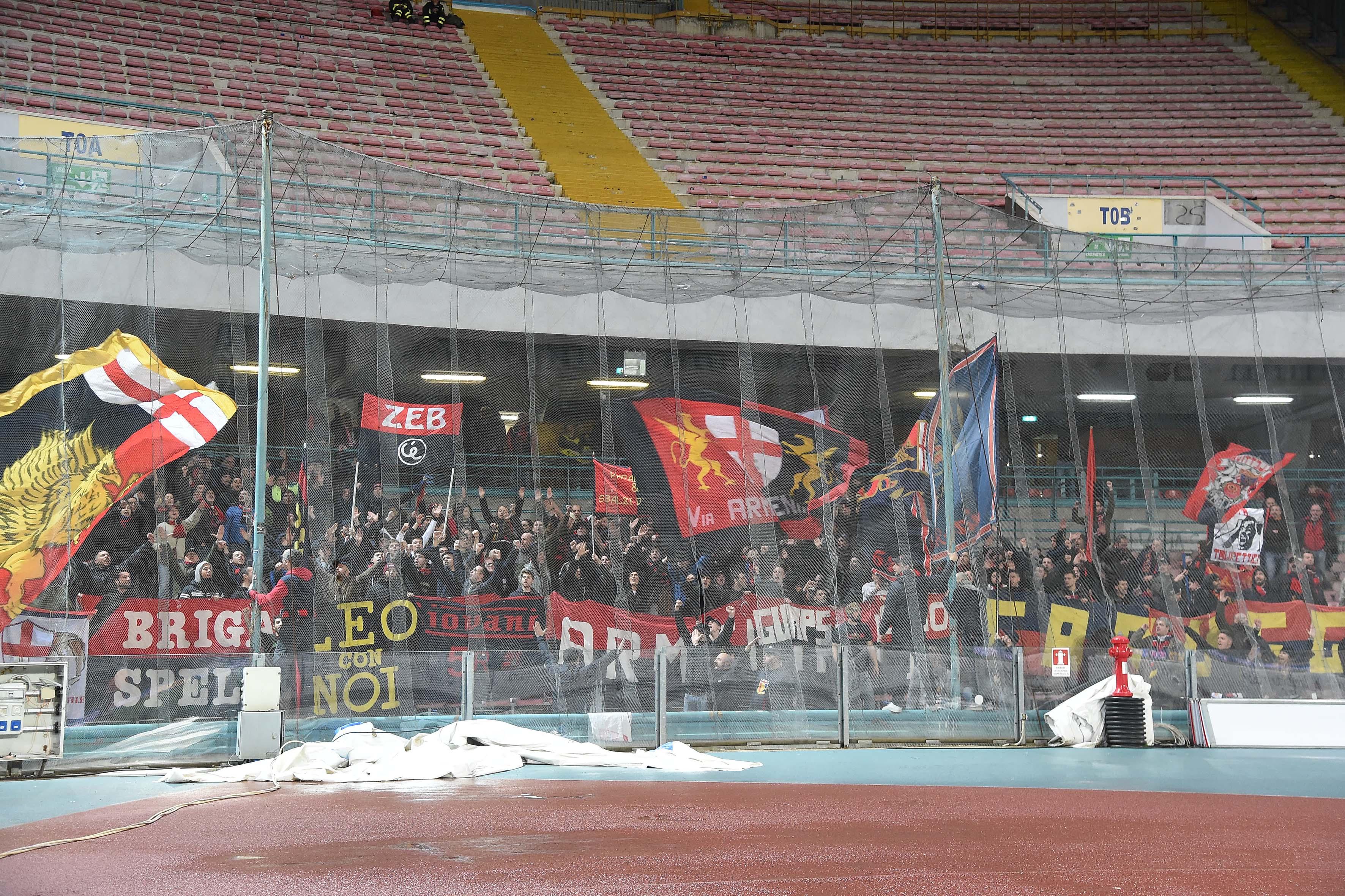NAPOLI, Giocatori fischiati al S.Paolo