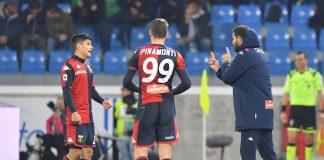 Agudelo Pinamonti Thiago Motta Genoa