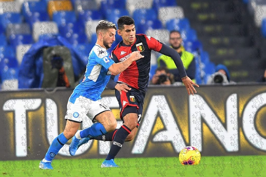 Romero Mertens Genoa