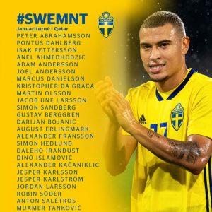 Tanković convocato dalla Svezia