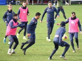 Genoa allenamento Pandevt
