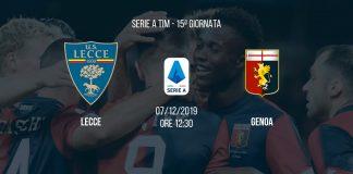 Lecce-Genoa