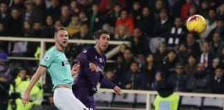 Vlahovic Fiorentina Skriniar Inter