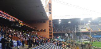 Gradinata Sud Genoa-Lazio
