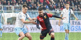 Iago Falque Genoa-Lazio