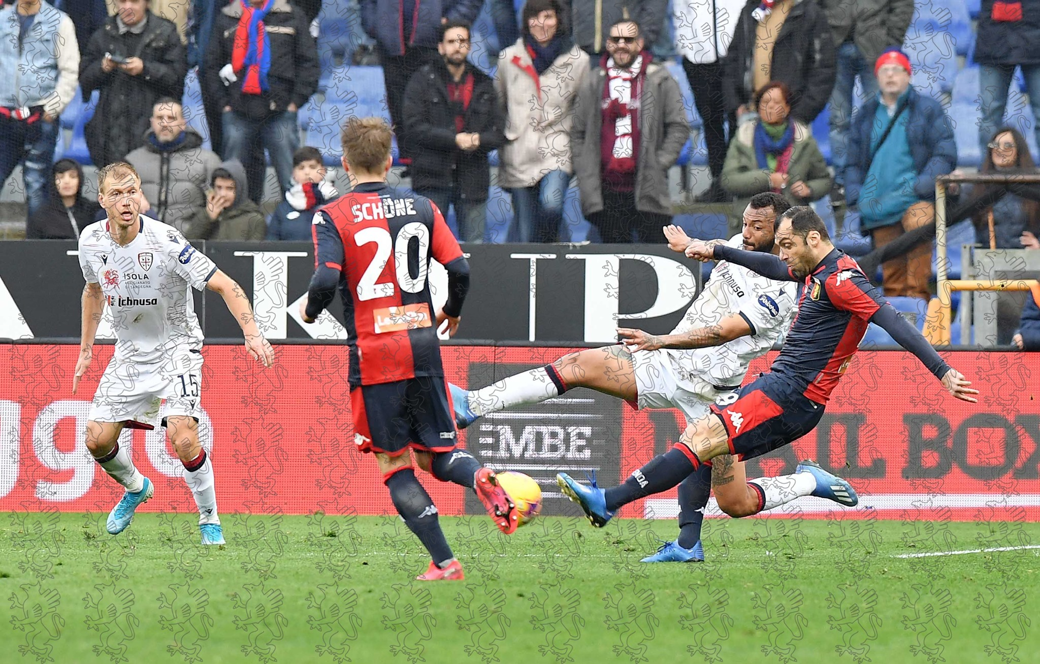 Pandev Genoa gol