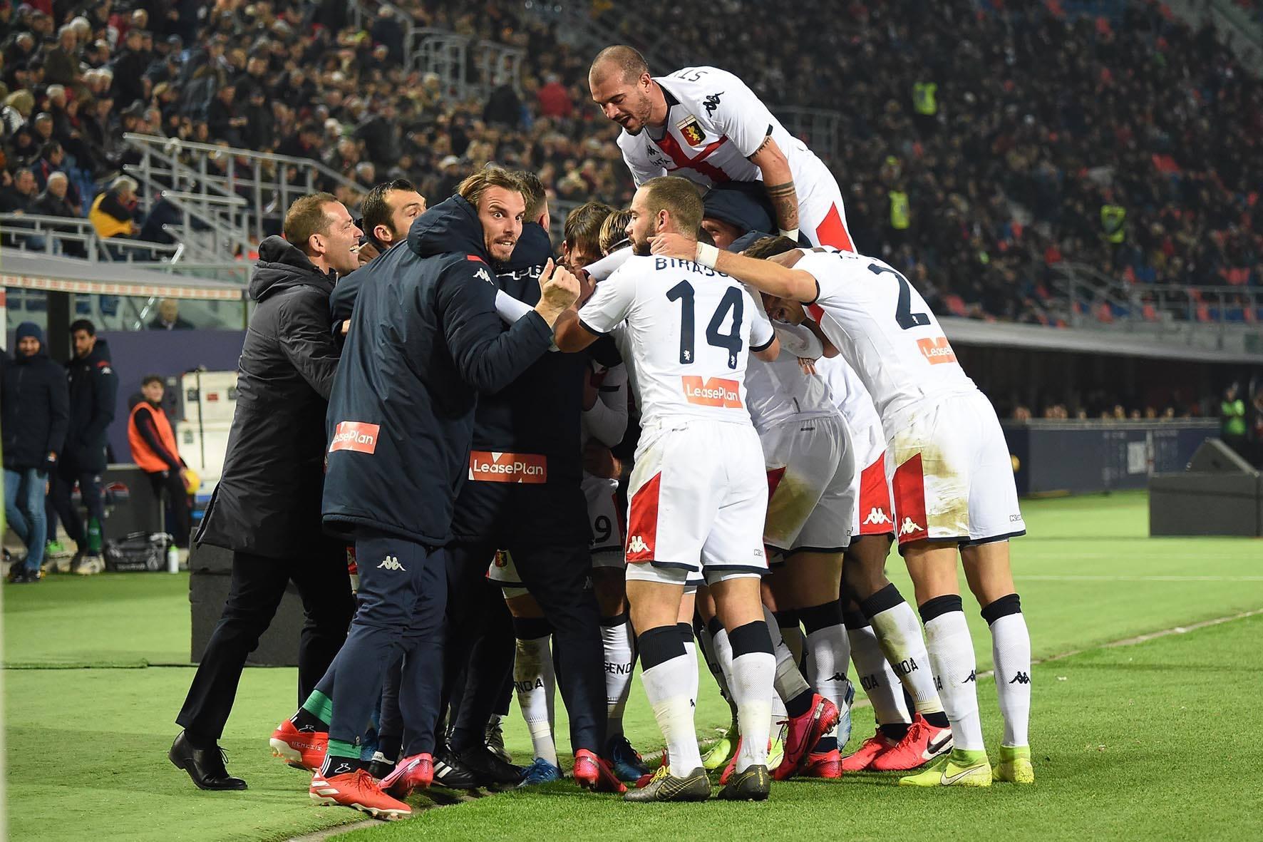 Bologna-Genoa gol