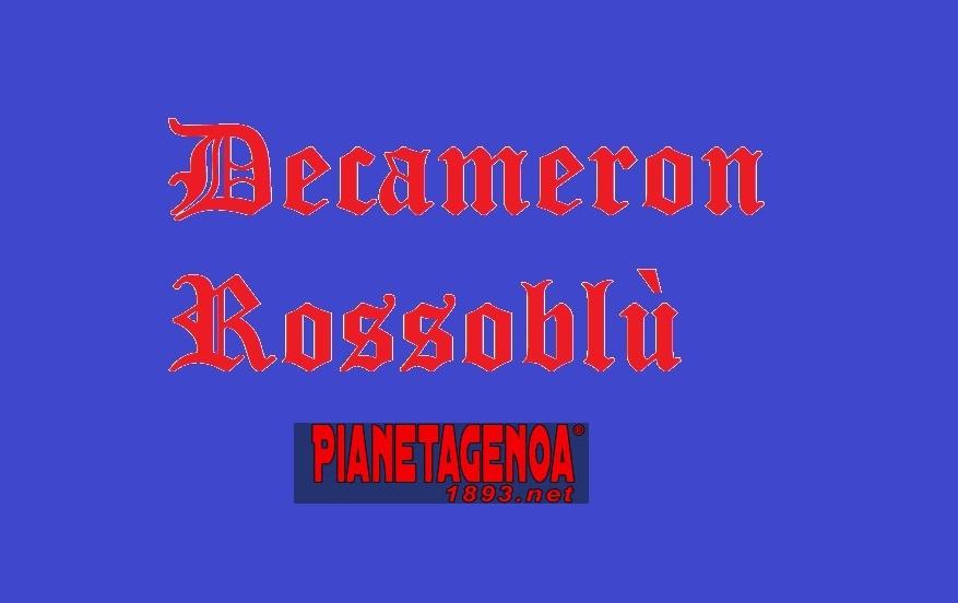 De Bode Decameron Oliva Baldini Barasso Onofri Braglia Genoa Cesari Capozucca