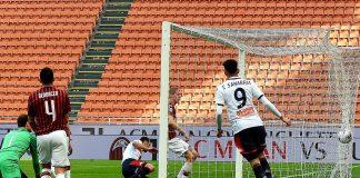 Pandev gol Milan-Genoa Sanabria
