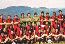 Genoa 1977-1978 Onofri Girardi Silipo