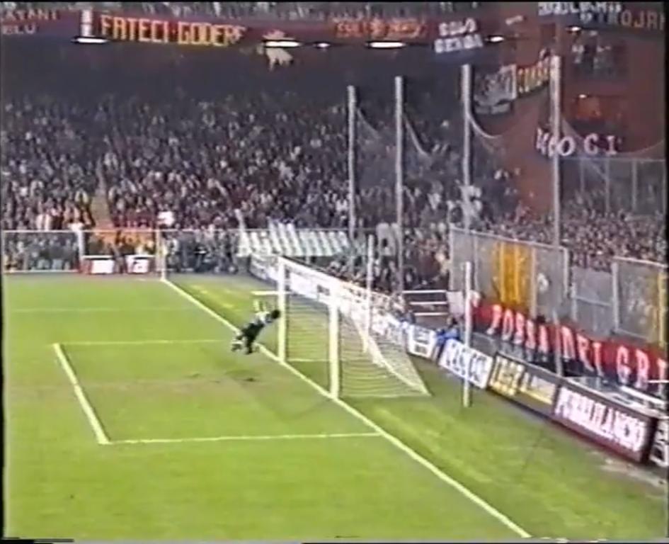 Gol Branco derby Sampdoria Genoa
