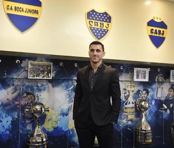 Burdisso Genoa Boca Juniors