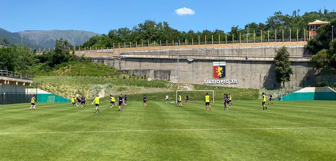 QUI PEGLI: seconda settimana di allenamenti per il Genoa ...