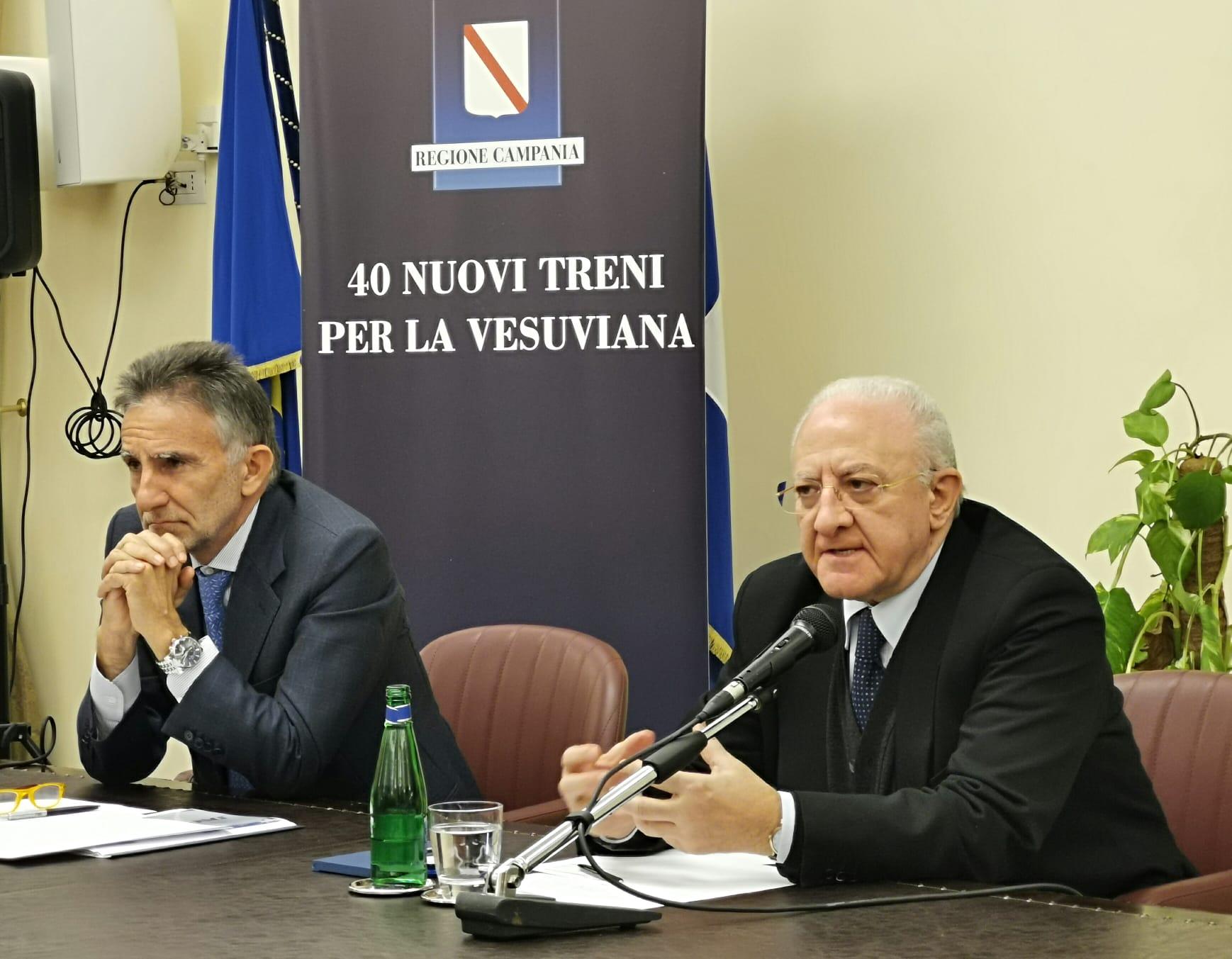 De Luca Campania Napoli