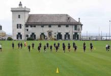 Pegli Genoa allenamento corsa Villa Rostan Genoa