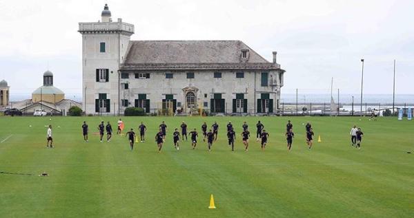 Pegli Genoa allenamento corsa Villa Rostan