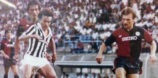 Testoni Platini Genoa-Juventus