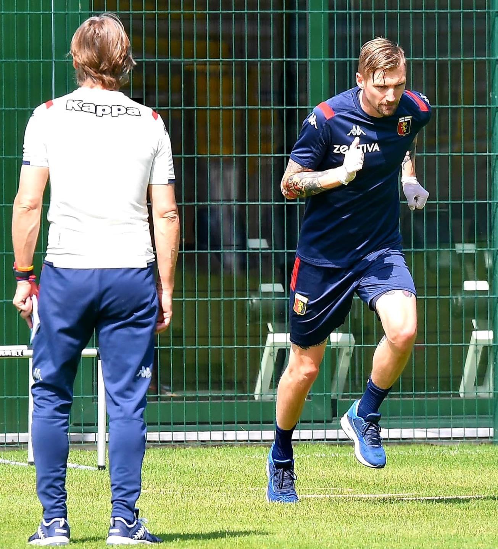 Nicola Eriksson Genoa
