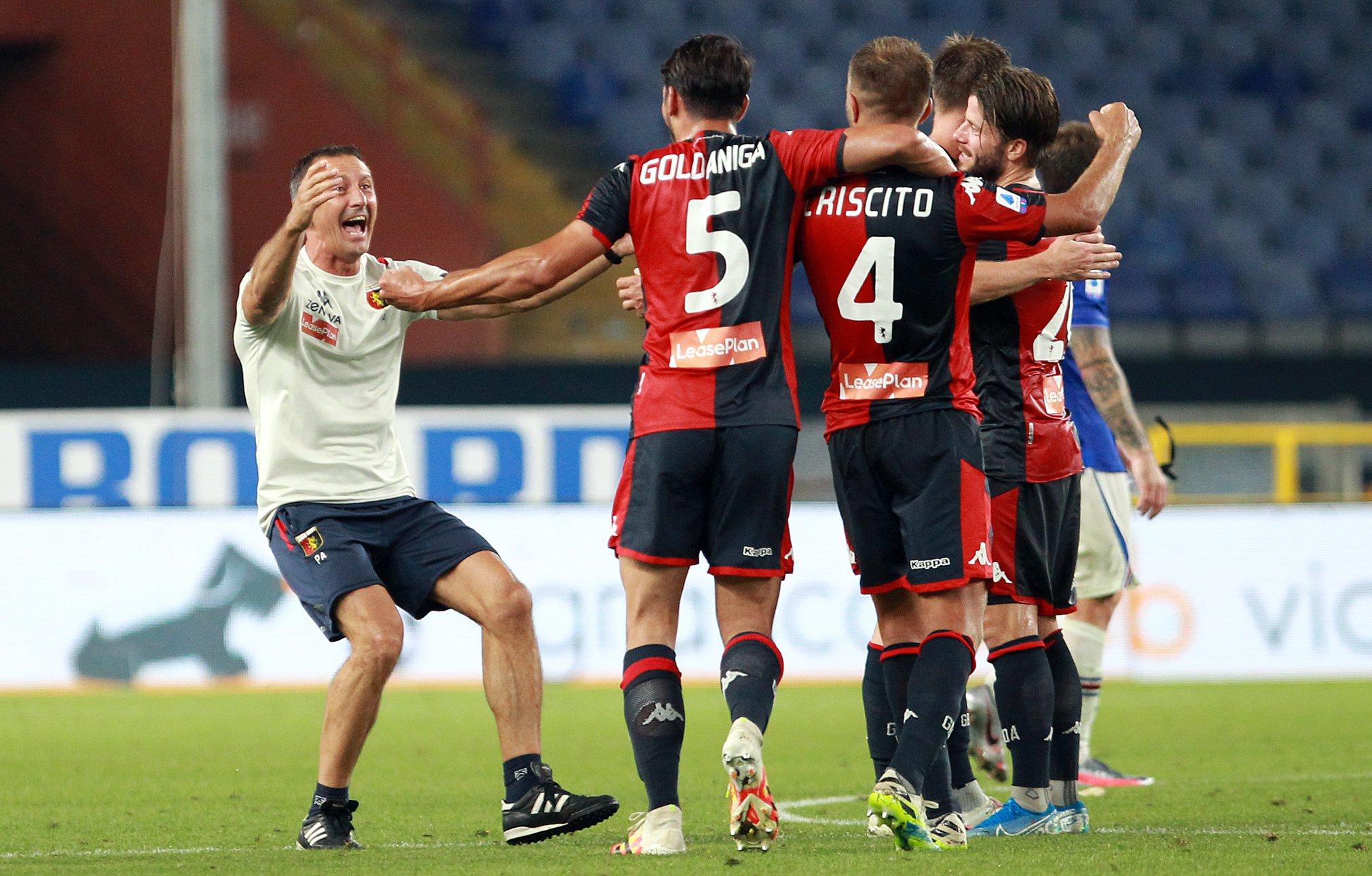 Criscito Goldaniga Genoa