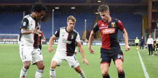 Pinamonti Cuadrado Ramsey Genoa Juve