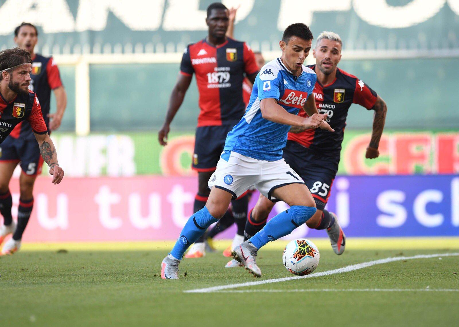 Elmas Behrami Genoa-Napoli