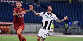 Kolarov De Paul Roma Udinese Serie A