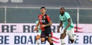 Romero Lukaku Genoa-Inter