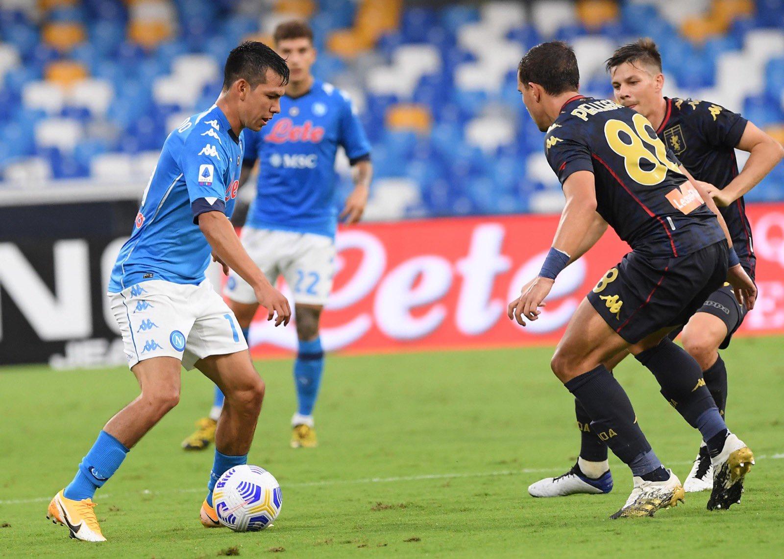 Lozano Pellegrini Napoli-Genoa