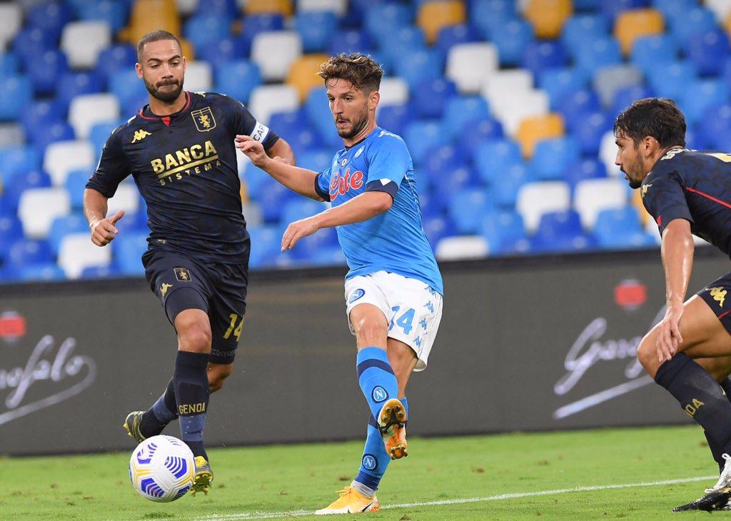 Biraschi Mertens Goldaniga Napoli-Genoa