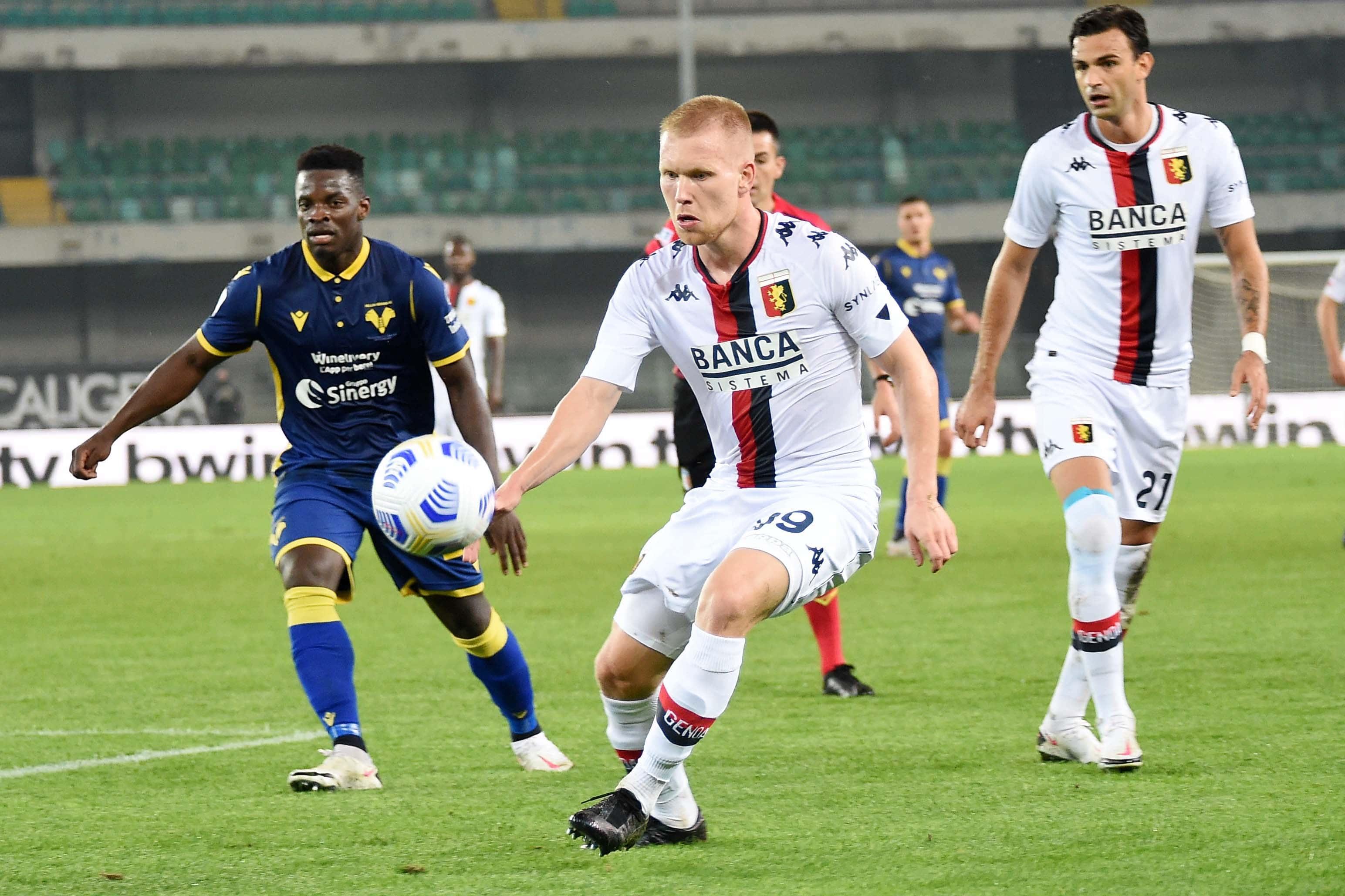 Verona-Genoa 0-0 di Serie A in diretta live: occasione per Pandev