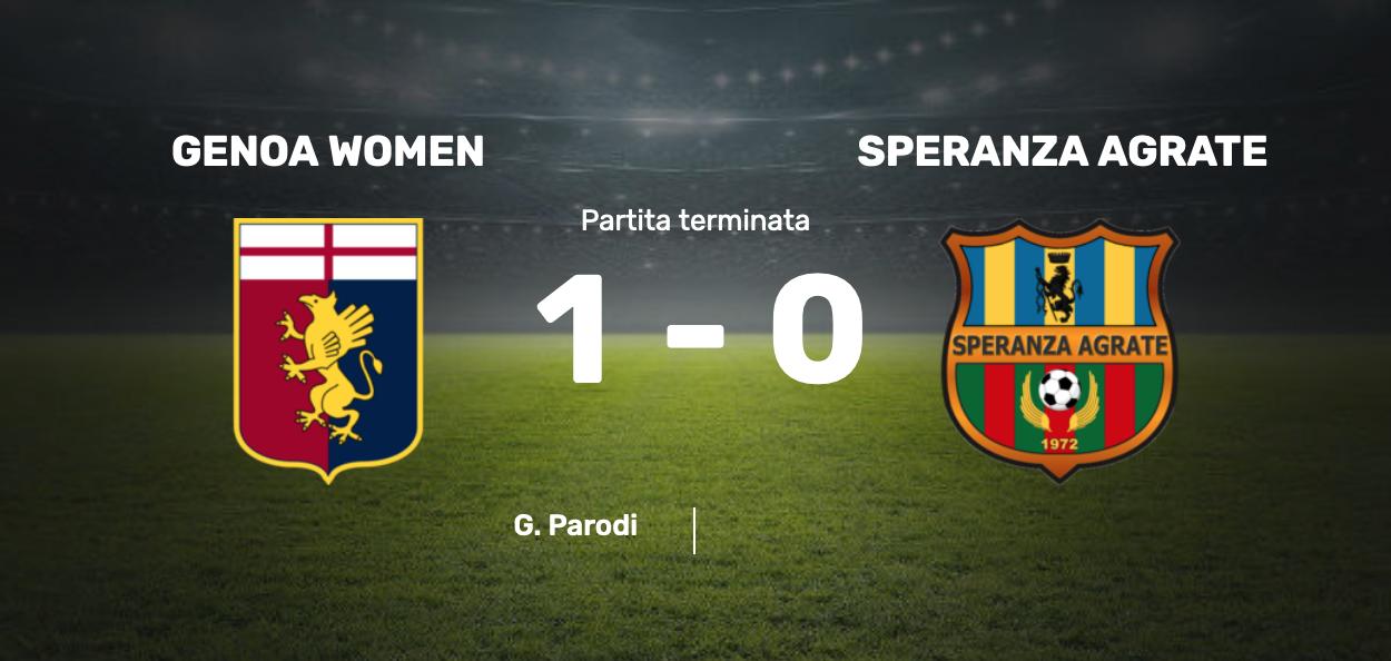 Genoa-Speranza Agrate femminile