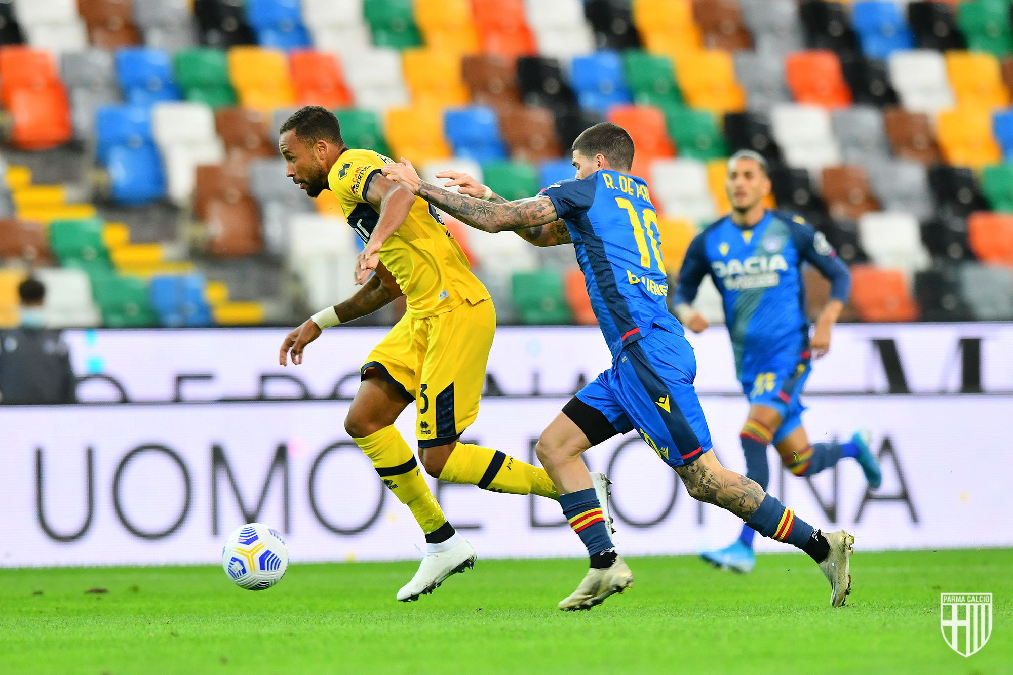 L'Udinese batte il Parma e lascia il Toro da solo all'ultimo posto