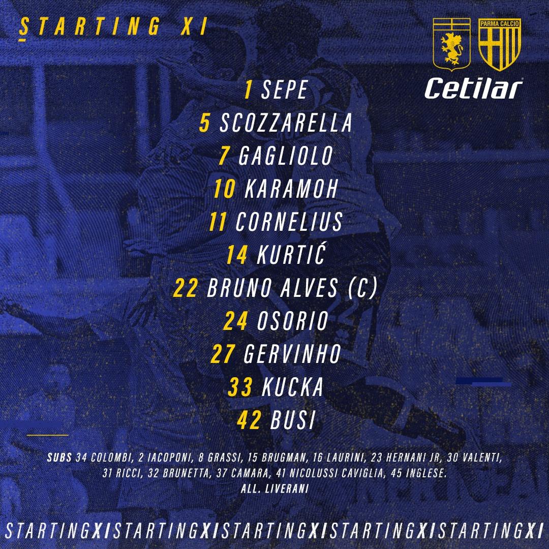 Genoa-Parma : Parma vs. Genoa - Prediction & Live Scores ...