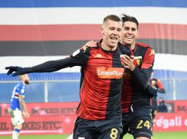 Derby Lerager Melegoni Genoa
