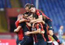 Genoa gol derby Scamacca