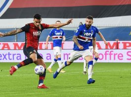 Scamacca Genoa derby