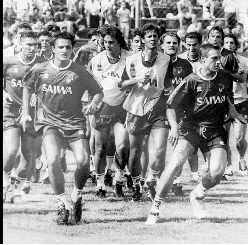 Spagnulo Genoa 1992-1993 Collovati Signorini Fortunato
